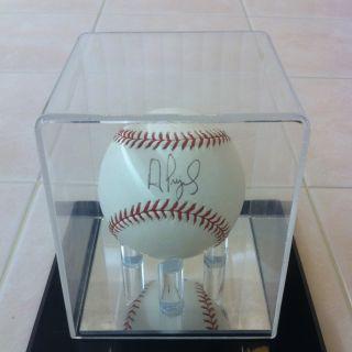 Albert Pujols Cardinals Angels Autograph Baseball COA
