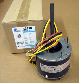 3728 1 4 HP 1075 RPM Air Conditioner Condensor Fan Motor Totally