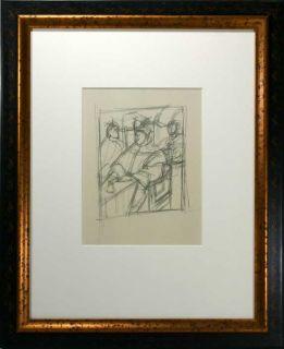 Alberto Giacometti Limited Lithograph Leon x Avec Cardinaux Giulio