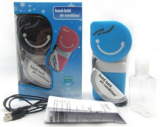Portable Handheld Air Conditioner Cooler Air Cooling Fan For Laptop Pc