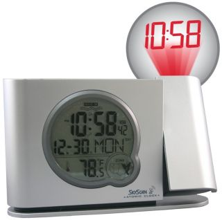 Equity 31269 Skyscan Atomic Digital Projection Alarm Clock