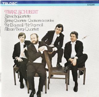 SCHUBERT STRING QUARTETS ALBAN BERG VIENNA GERMAN RARE CLASSICAL CD