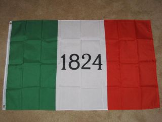 3x5 Alamo Flag 1824 Texas Flags TX New Texan Sign F024