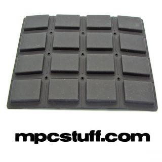 mpc 1000 black replacement pad set akai
