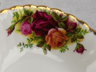 Set of 4 Vintage Royal Albert Old Country Roses Fruit Bowls