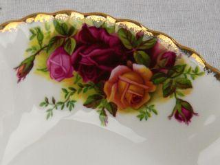 Set of 4 Vintage Royal Albert Old Country Roses Fruit Bowls