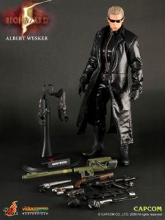 Albert Wesker Resident Evil Bio Hazard 1 6 Scale Figure Midnight