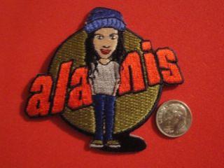 Alanis Morissette Concert Tour Vtg Patch Hat @ C&D Rock Licensed