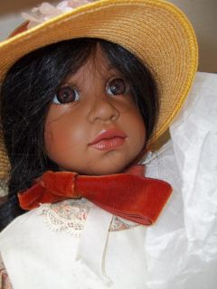 aa MADAME ALEXANDER H. GUNZEL ETHNIC AFRICAN AMERICAN BLACK DOLL with