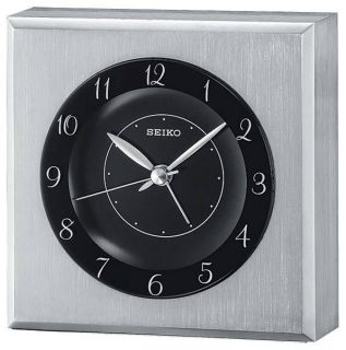 Seiko QHE053SLH Table Top and Desk Top Alarm Clock Black Friday Sale
