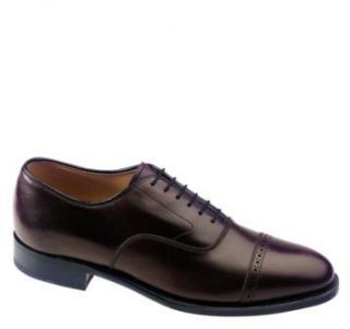 Johnston Murphy Mens Aldrich II Burgundy Shoe 24 8565