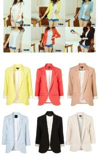 Celeb Style Cacdy Color Padded Shoulder Jersey Loose Fit Boyfriend