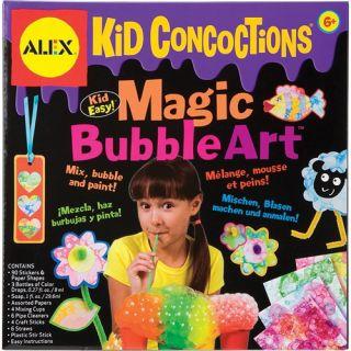 alex toys kid concoctions magic bubble art 962 kid easy mix bubble and