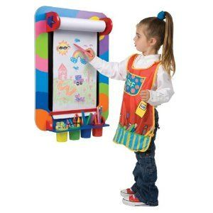 Art Smart Wall Easel Kids Young Artists Art Alex Toy