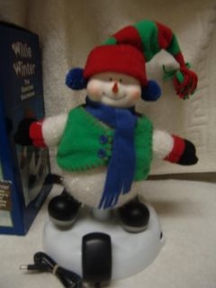 Willie Winter Animated Dancing Snowman Christmas Tree Song by Brenda