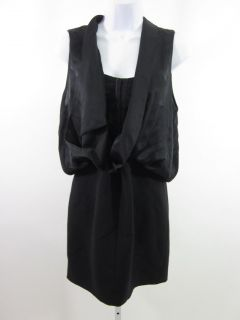 NEW ALEXANDER WANG Black Sleeveless Bustier Layered Pencil Skirt Dress