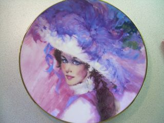 Avon Mrs PFE Albee Four Seasons Springs Magic Splendor Collector Plate