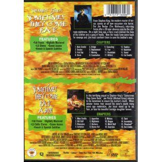 DVD Sometimes They Come Back Again Double Feature RARE A Stephen King