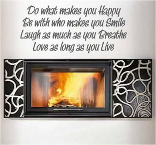 New do What Makes You Happy Home Decor All Colors