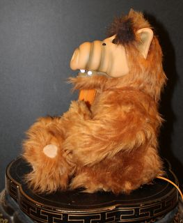 Vintage 1980s ALF Alien Plush Touchtone Telephone