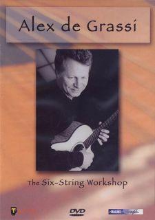 Alex De Grassi Six String Workshop Learn Acoustic Guitar Lessons Video