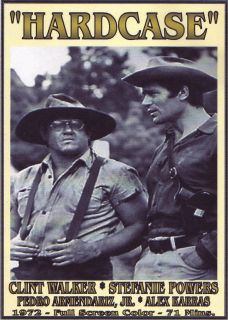 HARDCASE DVD CLINT WALKER STEFANIE POWERS ALEX KARRAS WESTERN