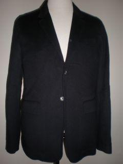 Alexander McQueen F w 2010 Navy Wool Blazer Jacket 40