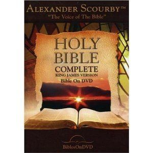 Holy Bible Complete KJV Version by Alexander Scourby