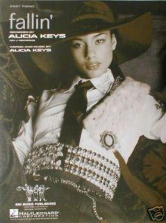 Fallin Alicia Keys Easy Piano Sheet Music