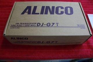 Alinco DJ G7 Tri Band Handheld Transceiver New