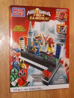 Mega Bloks 5824 Power Rangers Super Samuria Claw Battlezord vs Mooger