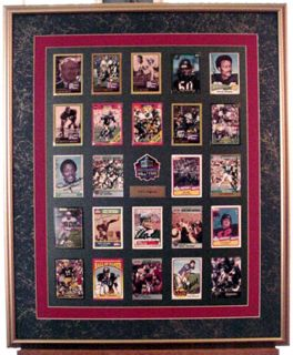 RARE Collection of 153 Football Hall of Fame Autographs