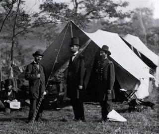 Abraham Lincoln Antietam Civial War Battle Mouse Pad