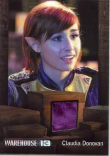 S3 Variant Costume Card Allison Scagliotti as Claudia 091 300