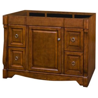 Allen Roth 48 Sienna Caladium Bath Vanity New