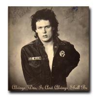 GG Allin Always Was Orig Autographed Orange LP with Insert Punk KBD OG