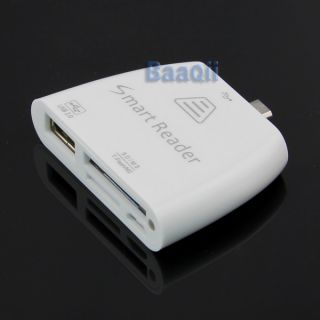 i9300 micro usb host all in one card smart reader