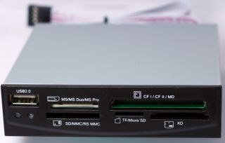 All in 1 Internal Memory Card Reader for PC XD MS