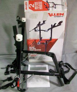 Allen Sports 2 Bike Deluxe Trunk Mounted Carrier 102 DB