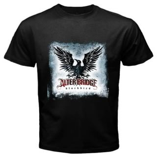 Alter, Bridge, T Shirt, Blackbird, Rock, Band, Black, Tee, Shirt, SIZE