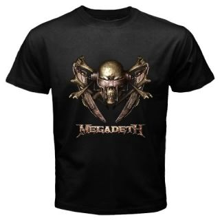 Vol 2 Megadeth Hard Rock Trash Heavy Metal Band T Shirt
