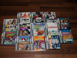 X13 Complete Boxed Game Boy Advance Games Lot Nintendo GBA DS Lite