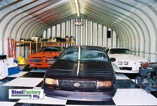 Steel P20x40x12 Metal Shop Buildings Hot Rod Auto Garage Welding