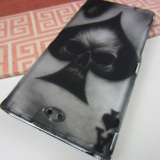Vintage Skull Rubberized Hard Cover Case for New Apple iPod Nano 7 7g