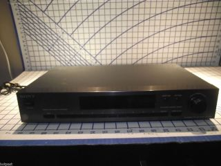 Sony FM Stereo Am FM Digital Synthesizer Tuner St JX531 Good Condition