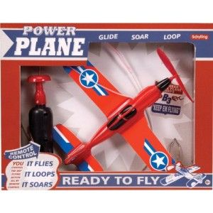 Power Plane Remote Control String Line Loop Airplane Battery Toy