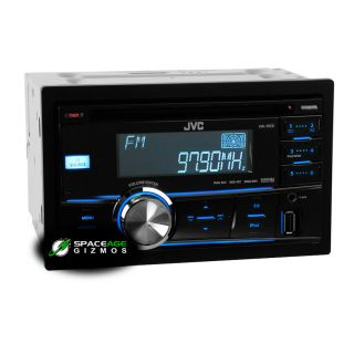 JVC KW R500 in Dash Am FM CD Car Stereo Receiver with Front USB iPod
