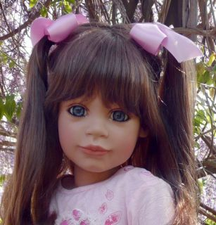 Masterpiece Amelia by Susan Lippl 38 Vinyl Cloth Doll in Stock
