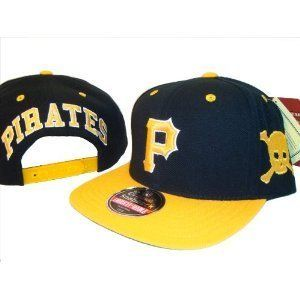 Pittsburgh Pirates American Needle Snap Back Cap Caps Hat Hats Black