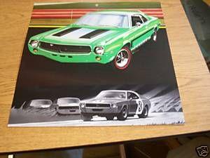 1969 American Motors Javelin Big Bad Green